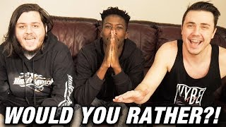 VYBE PLAYS WOULD YOU RATHER
