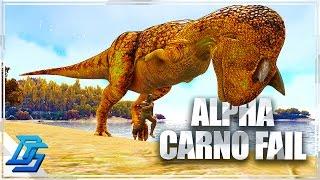 Ark: Survival Evolved - Ark Comes Alive Mod Part 5 - Alpha Carno Tame Fail ! (Modded Ark)