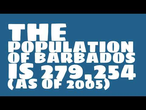 What is the population of Barbados?