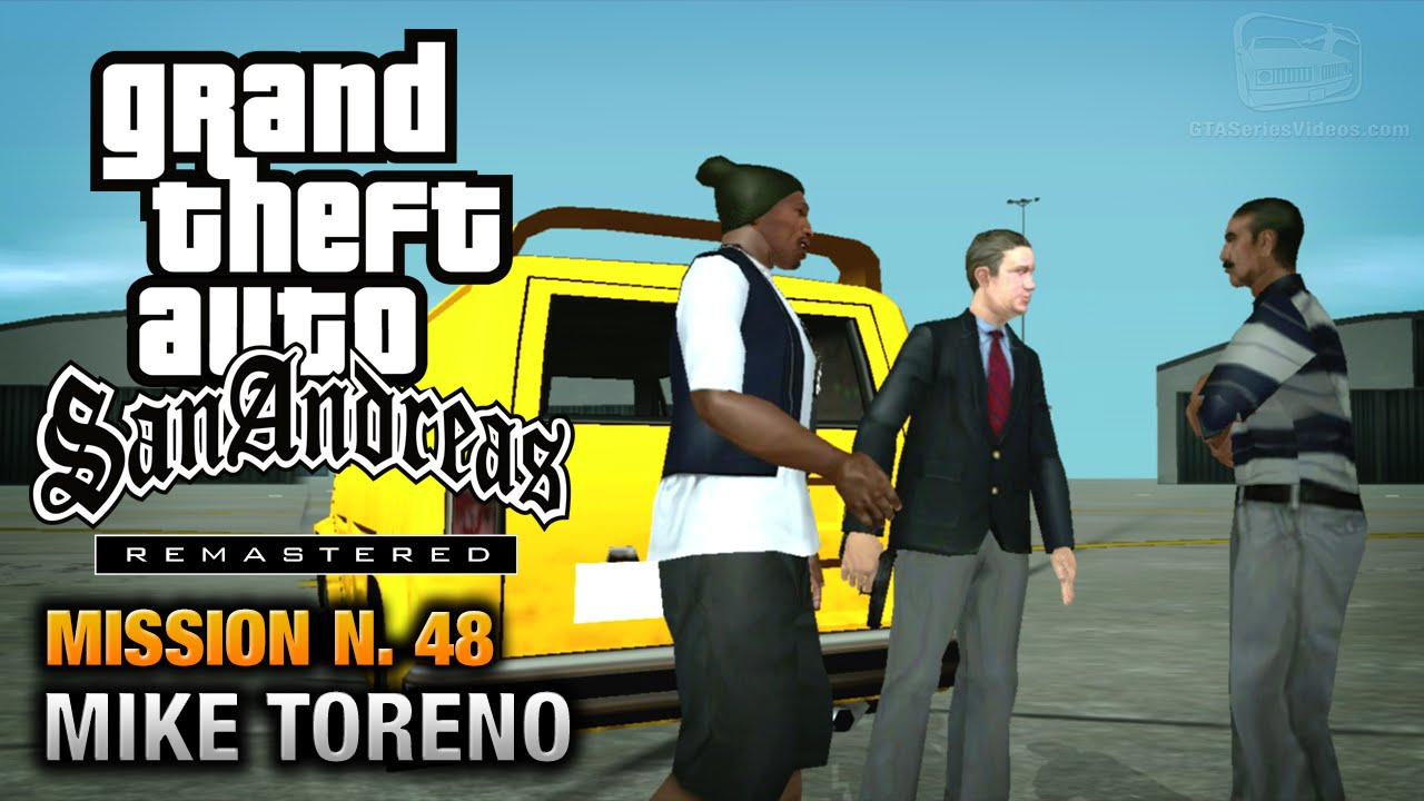 gta san andreas remastered - mission  48 - mike toreno  xbox 360    ps3