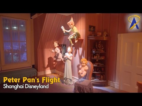 Peter Pan's Flight Shanghai Disneyland Full Low-Light POV