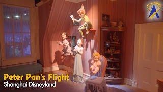 Peter Pan's Flight Shanghai Disneyland Full Low-Light POV