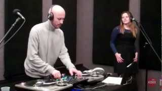 "Wax Tailor with Charlotte Savary ""Heart Stop"" Live at KDHX 2/2/13"