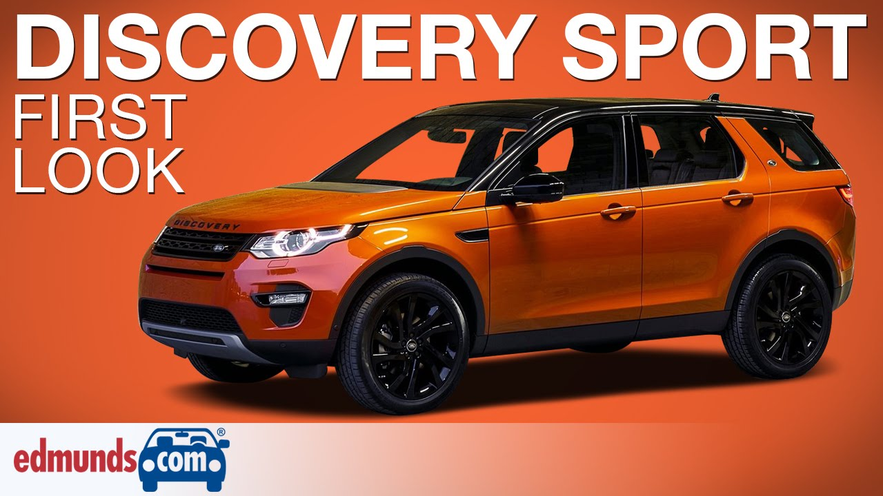 2015 Land Rover Discovery Sport First Look Paris Auto