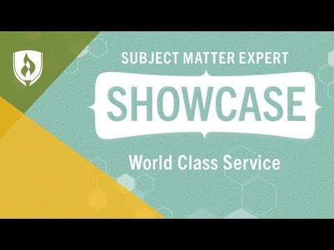 World Class Service: Creating a Positive Customer Experience - SME Showcase