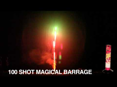 100 Shot Magical Barrage