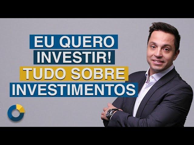 ⭐ Eu Quero Investir: Seja bem vindo! Encontre tudo sobre investimentos e o mercado financeiro.
