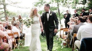 Fun Backyard Wedding in the Northwoods | Wisconsin Wedding Video