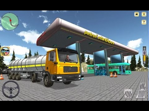 Oil Tanker Fuel Hill Transport Android Gameplay HD