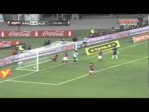 Argentina 4 - 0 Albania // Amistoso  Interacional ESPN+  HD Widescreen 16:9