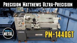 Precision Matthews PM-1440GT Lathe In-Depth Walkthrough and Demo