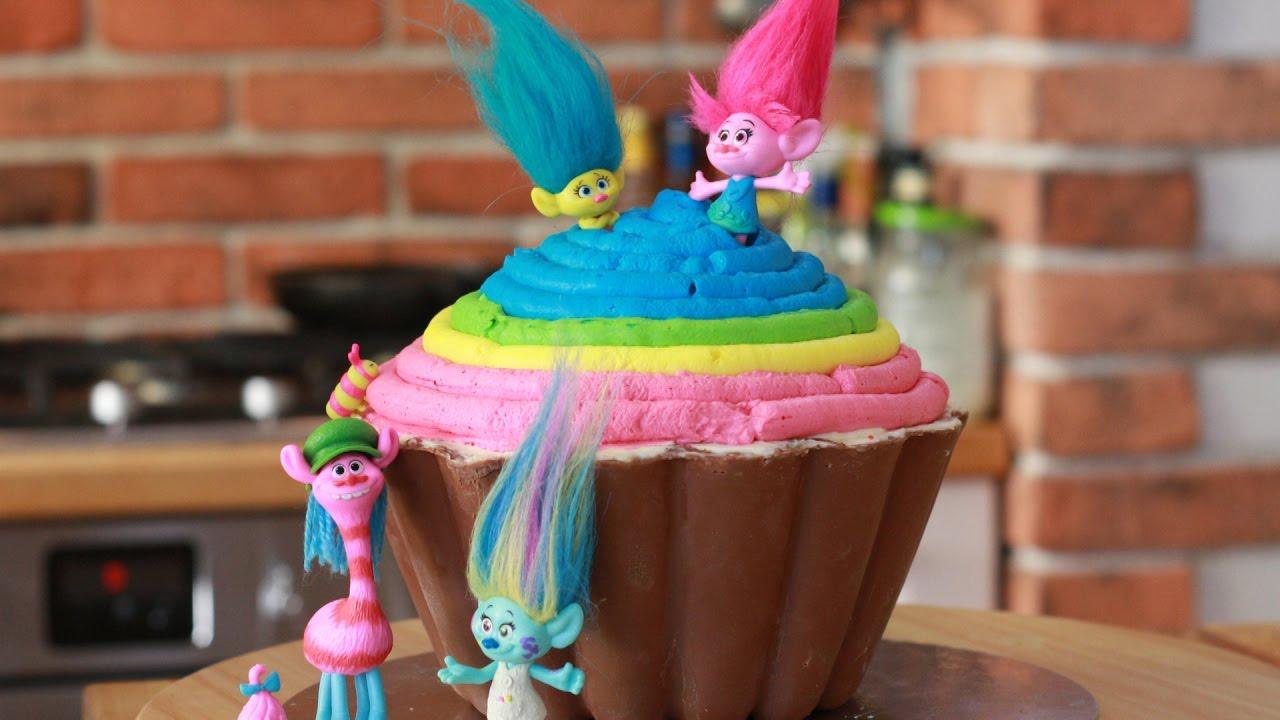 Troll Doll Cake