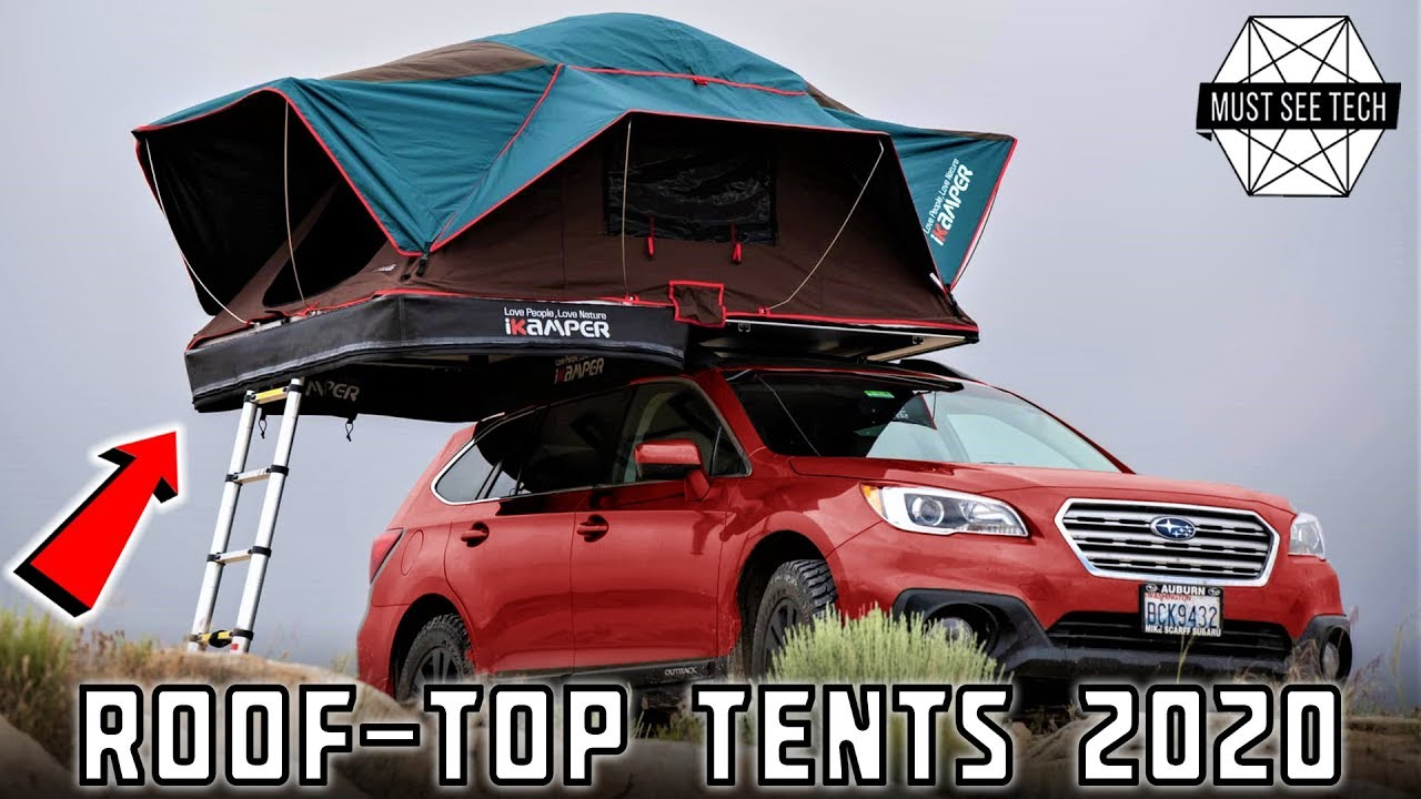 8 Roof Top Tents Turning Your Car Into A Camper In 2020 Youtube