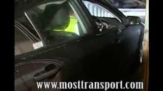 видео перевозка машины в контейнере
