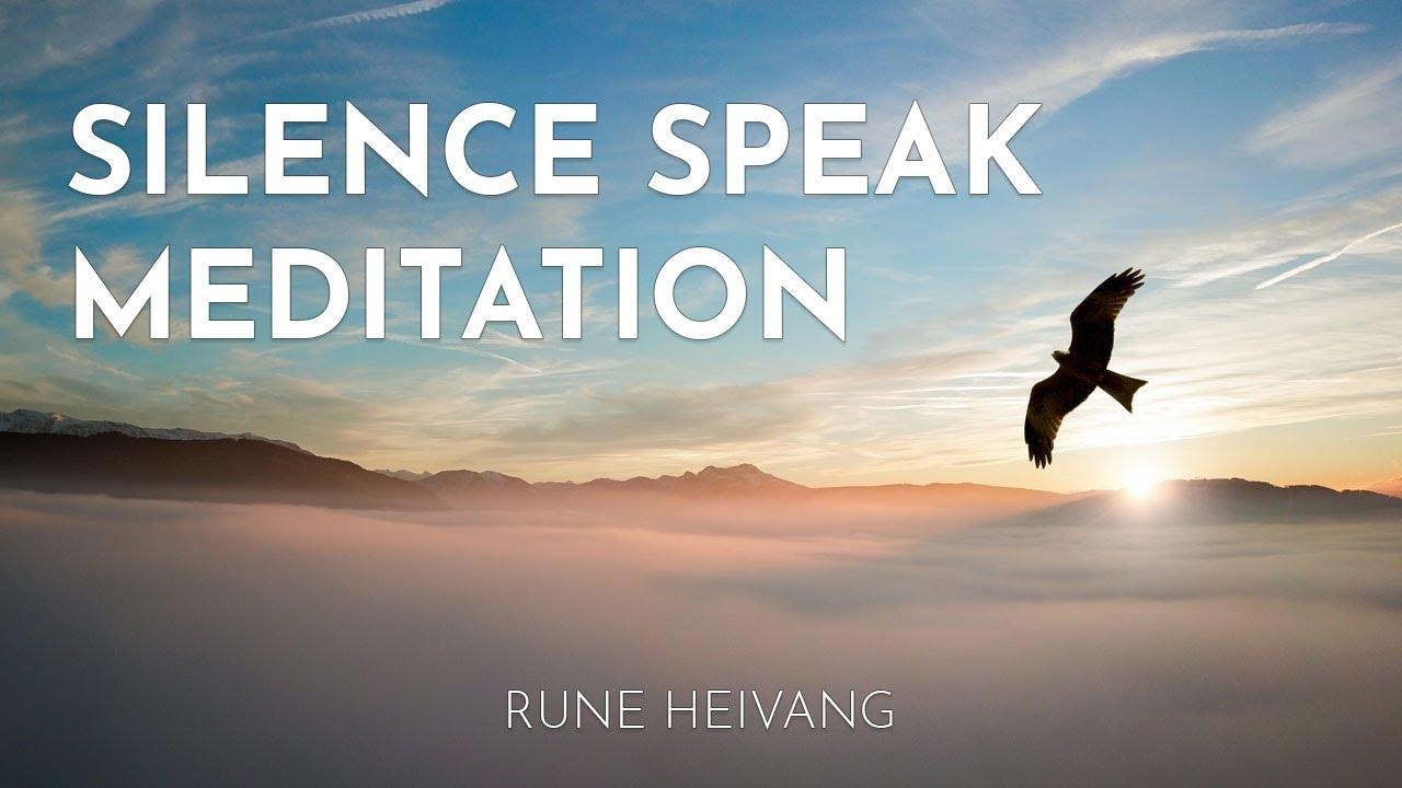 Download 🧡Silence Speaks Meditation with Rune Heivang