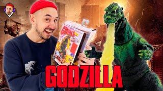 Распаковка фигурки Godzilla от NECA! Top Rob: МЕНЯ РАЗДАВИЛИ!