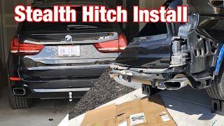 BMW X5 F15\/F85 Stealth Hitch Installation