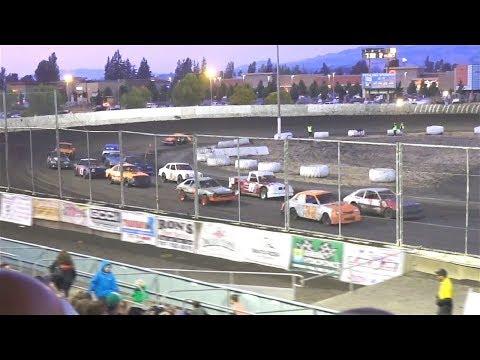 Mini Stock MAIN 9-9-17 Petaluma Speedway