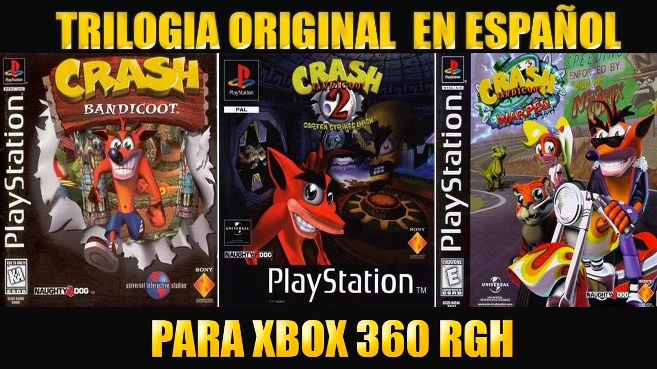 Descargar Trilogia Original De Crash Bandicoot Para Xbox 360 Rgh