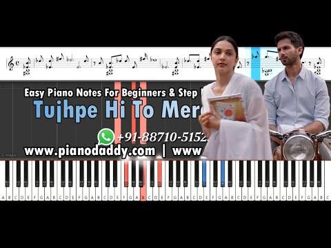 tera-ban-jaunga-(kabir-singh)-piano-tutorial-and-piano-notes