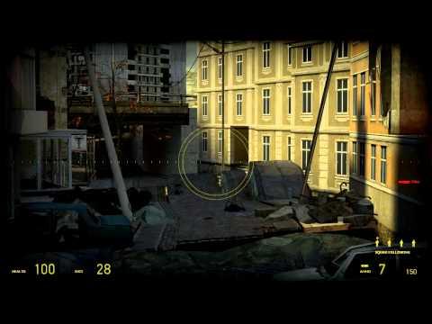 Half-Life 2 HD Walkthrough Chapter 10 - Anticitizen One pt 1