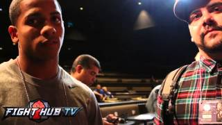 "Felix Verdejo ""mayweather Is Faster And Has All The Qualities To Win This Fight"""