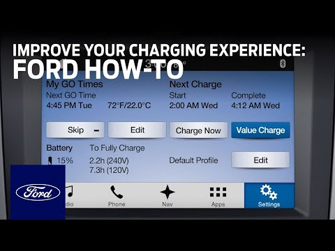 Ford Electric Vehicles: Charging the Battery of Plug-In Hybrids and EVs |  Ford How-To | Ford