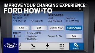 Ford Electric Vehicles: Charging the Battery of Plug-In Hybrids and EVs | Ford How-To | Ford thumbnail