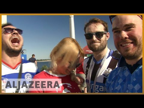⚽ Russia 2018: England fans arrive in Russia amid tight security | Al Jazeera English