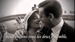 Les feuilles mortes - Yves Montand - Autumn Leaves - avec paroles lyrics letra testo - HD / HQ