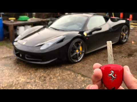 Going Sideways In A Ferrari 458 Italia