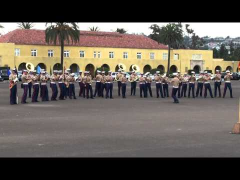 Kilo Company Marine Band Performing at Graduation 8-12-11