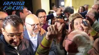 Vincenzo Ciampi (M5S) eletto sindaco di Avellino - esplode la festa