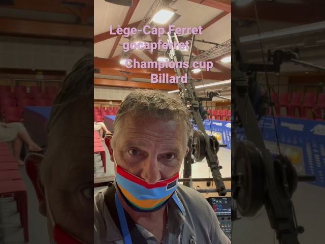 Billard 3 bandes CHALLENGE CUP 3C Kozoom – Introduction Lège-Cap Ferret Ep 00 Vertical