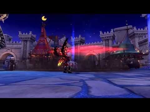 Lunar Knight/MoonLord Fire Red Skill Effect Mod - [Download Mod] - Dragon Nest