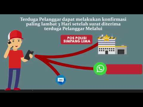 E-TLE (Tilang CCTV) Polrestabes Semarang