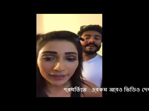 Model and Actress live funny video. Model and Actress Sayantika Banerjee live funny video. Part 2