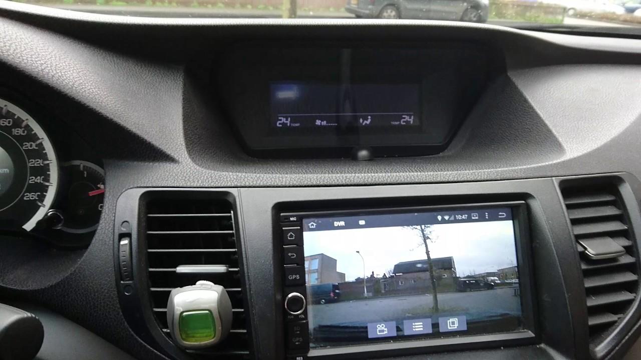 Joying Android Quick Review on Honda Accord Tourer [Euro 2009 build]