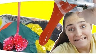 Slime Çorbası - MIXING ALL MY SLIMES!! SLIME SMOOTHIE - Fenomen Tv