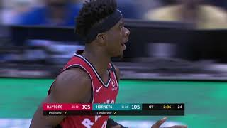Charlotte Hornets vs Toronto Raptors | January 8, 2020