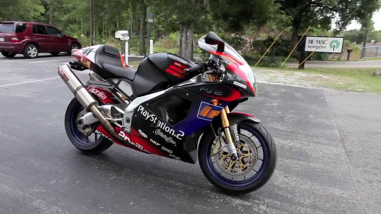 2003 Aprilia Rsv Mille Haga R At Euro Cycles Of Tampa Bay
