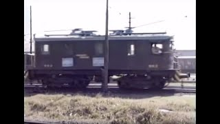 Ferrocarriles Argentinos 1988  Electric Shunting Service