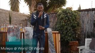 Gambar cover Gordon Molepo @ World Of Words