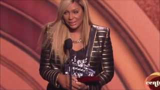 Tamar Braxton - Soul Train Awards Acceptance Speech & Performance