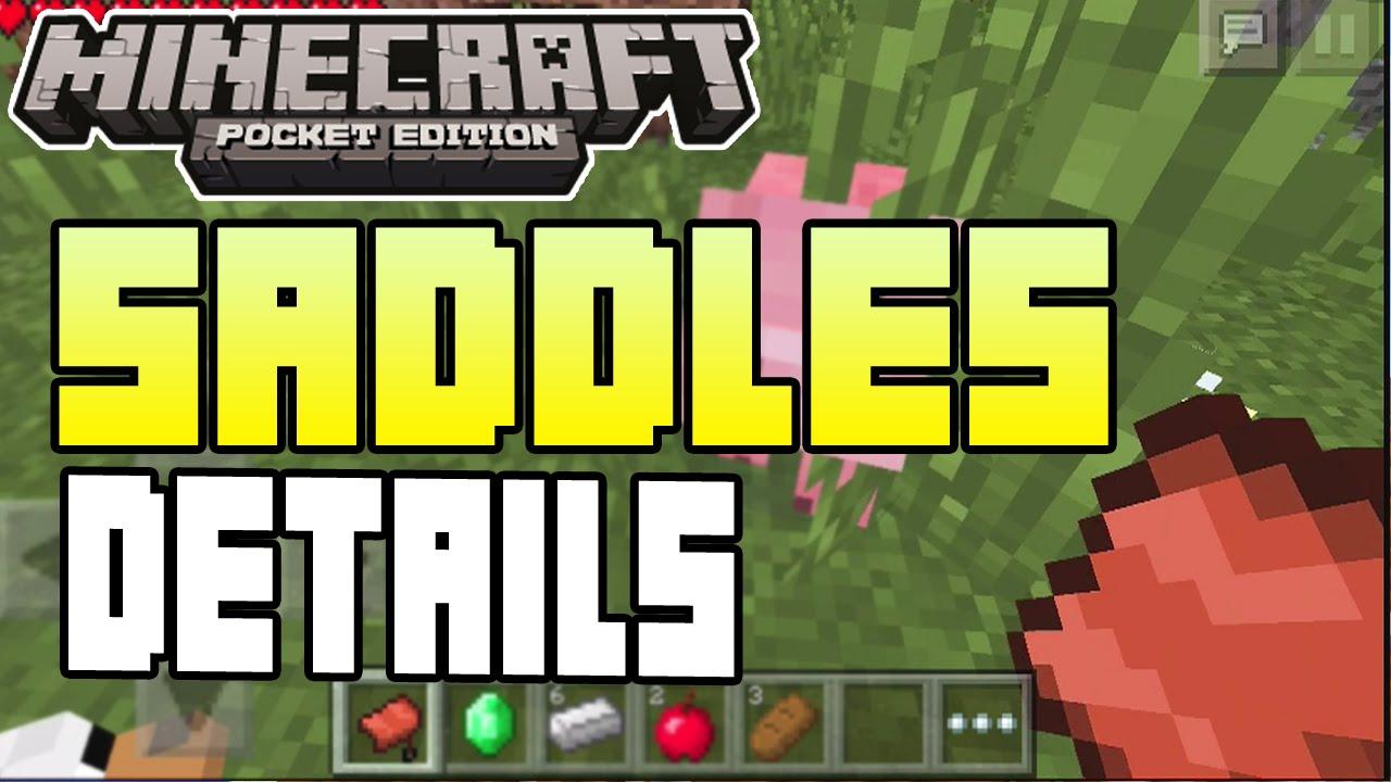 Minecraft Craft Saddle