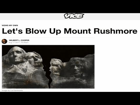 "Vice Article: ""Let's Blow Up Mount Rushmore,"" Corrected Shortly After"