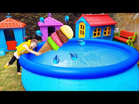 Öykü and Dad - The best pool and alien stories for kids indir