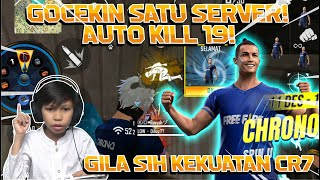NYOBAIN BUNDLE CR7 AUTO NGEGOCEK + KILL 19 PLAYER! DUO VS SQUAD! EMANG THE BEST BUNDLENYA!