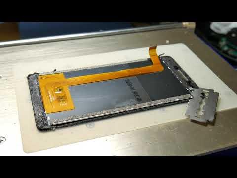 Philips Xenium V377 / Замена стекла.