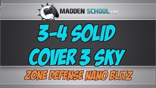Video Madden 15 Nano Blitz: 3-4 Solid Cover 3 Sky download MP3, 3GP, MP4, WEBM, AVI, FLV Agustus 2017